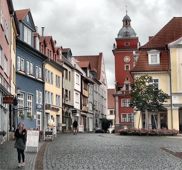 Hünersdorfstrasse en Gotha