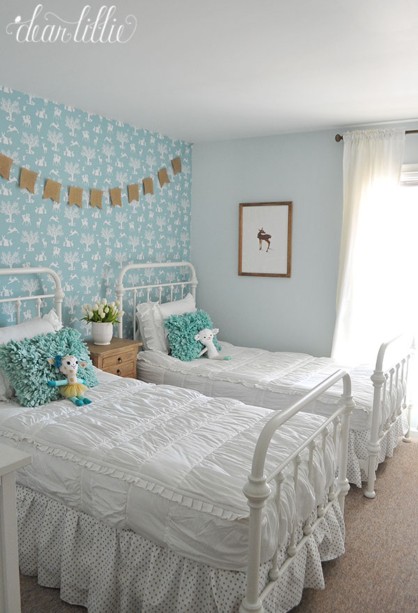 Attractive A Whimsical Woodland Little Girlsu0027 Room