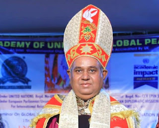 World News : New York :- His Eminence Prof  Dr  Madhu