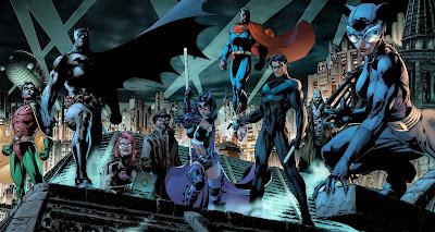 Todos los superheroes de DC Comics