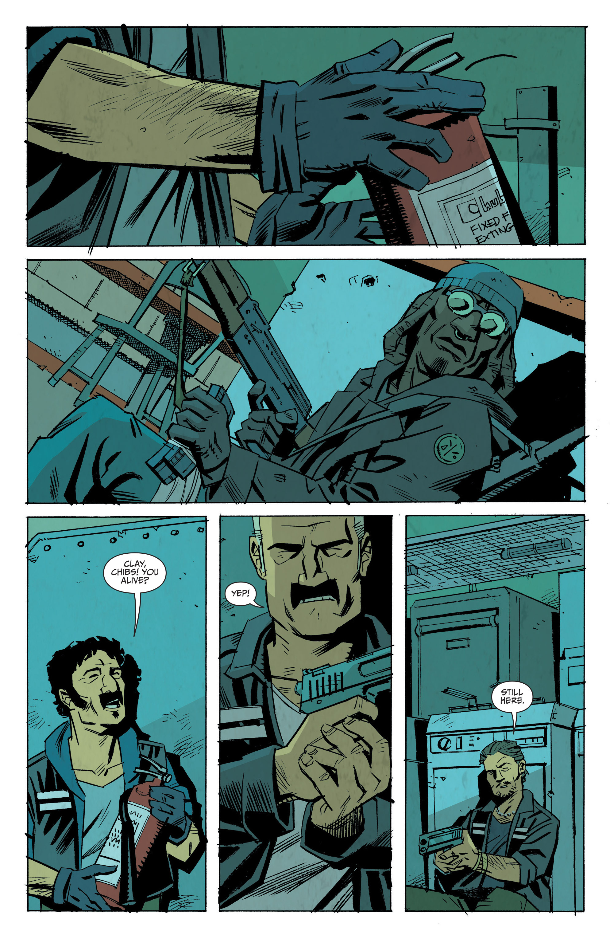 Read online Sons of Anarchy: Redwood Original comic -  Issue #8 - 9