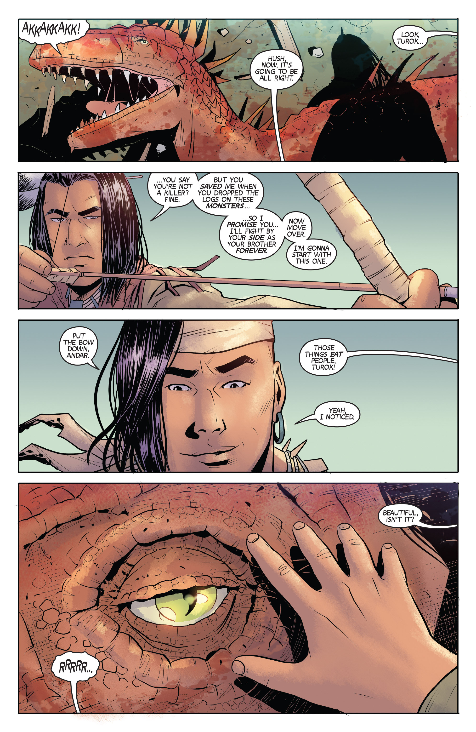 Read online Turok: Dinosaur Hunter (2014) comic -  Issue # _TPB 1 - 34