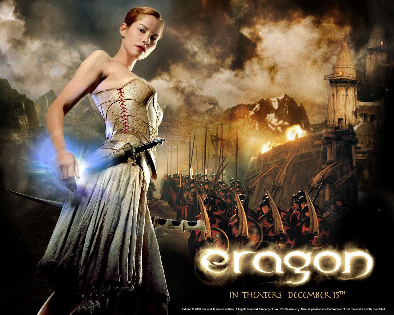 Celebrities Movies And Games Eragon Movie Posters 2006