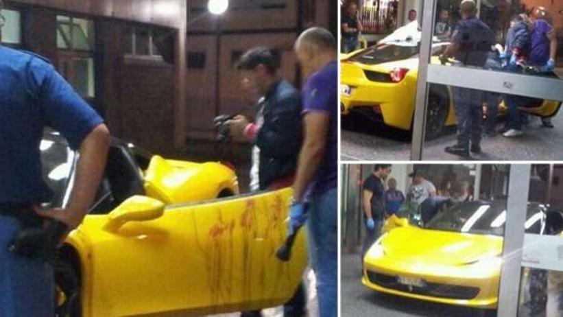 Ferrari 458 Terobos UGD setelah Testis pengemudi Tertembak