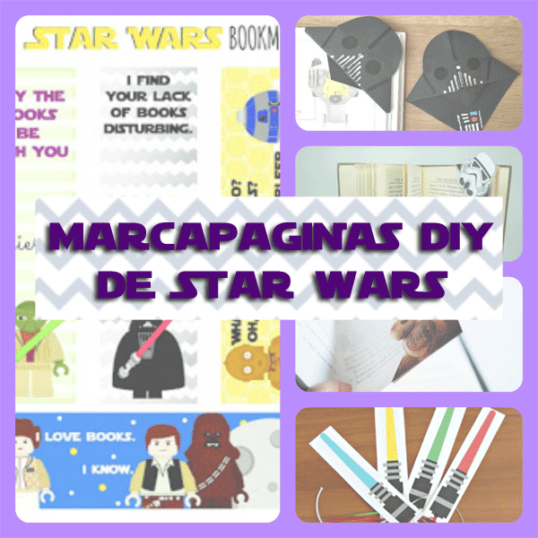 5 Marcapaginas de Star Wars DIY