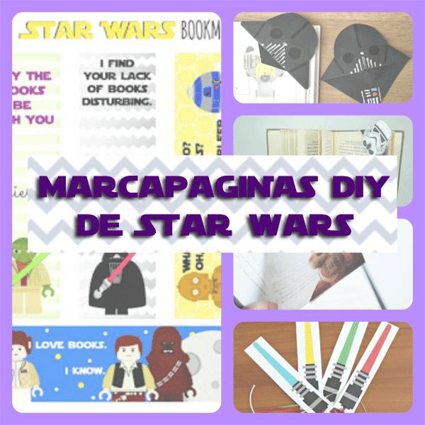 5 Marcapaginas de Star Wars DIY