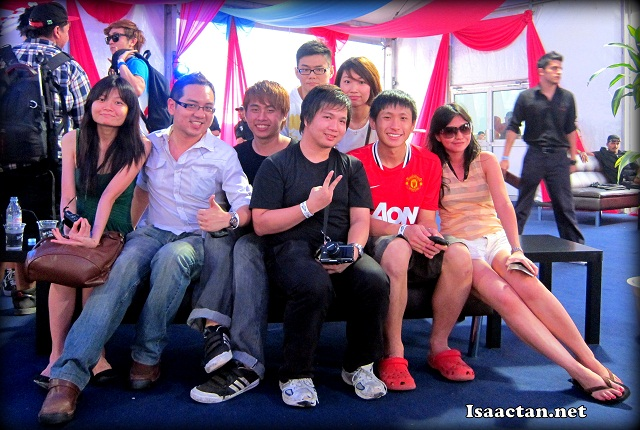 Bloggers at Future Music Festival Asia 2012 Sepang