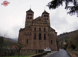Murbach, Alsacia, Francia