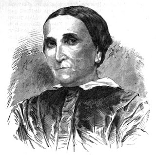 Caterina Scarpellini, here depicted in a magazine  illustration, made many important scientific findings