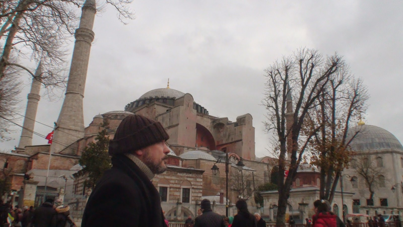 Mario Fattorello en Estambul