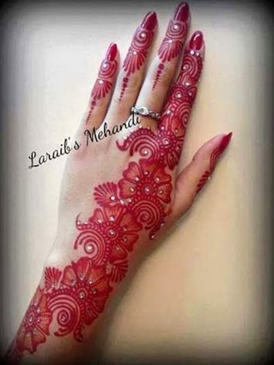 Arabic Girl Wallpaper Arabic Mehndi Designs B Amp G Fashion