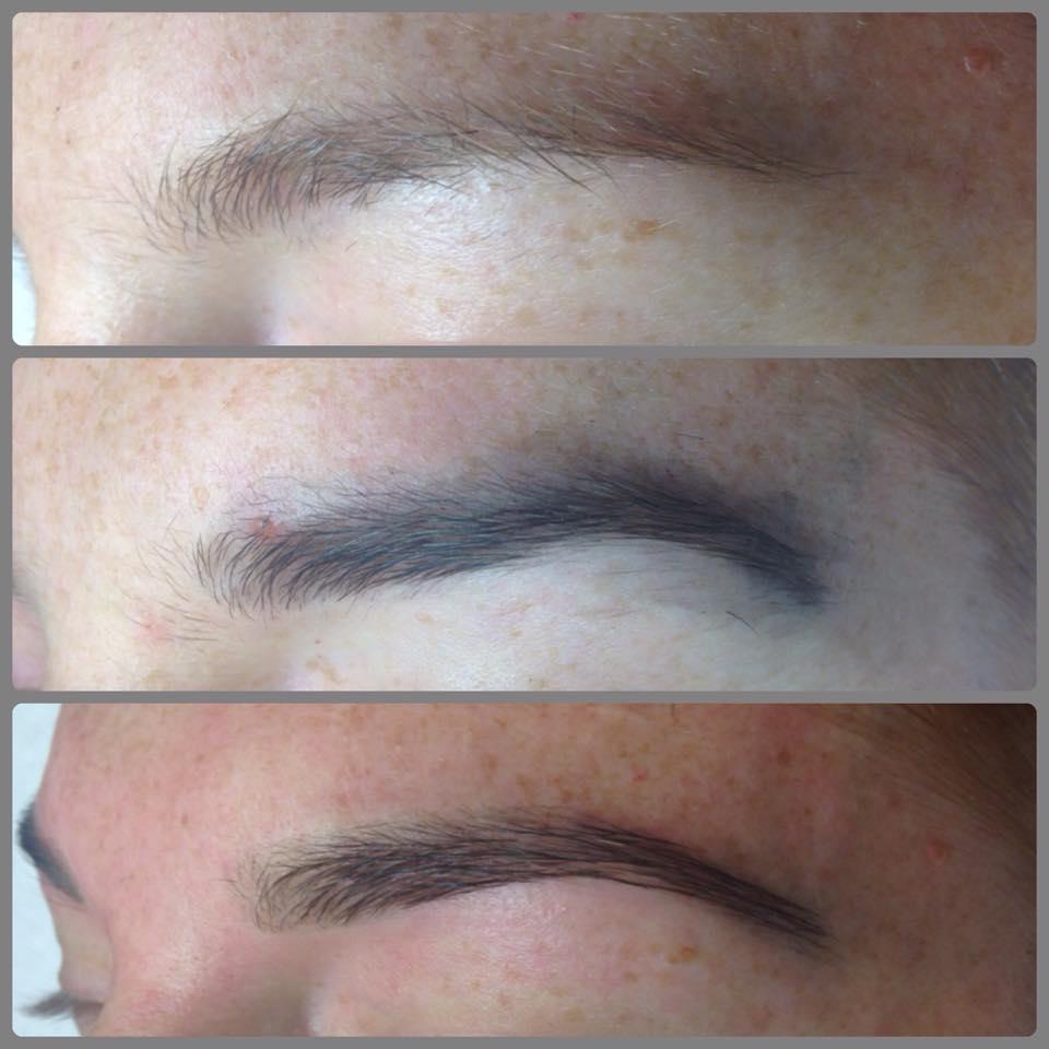 eden eyebrows spa chantal bergeron sourcils gatineau - Coloration Sourcils Maison