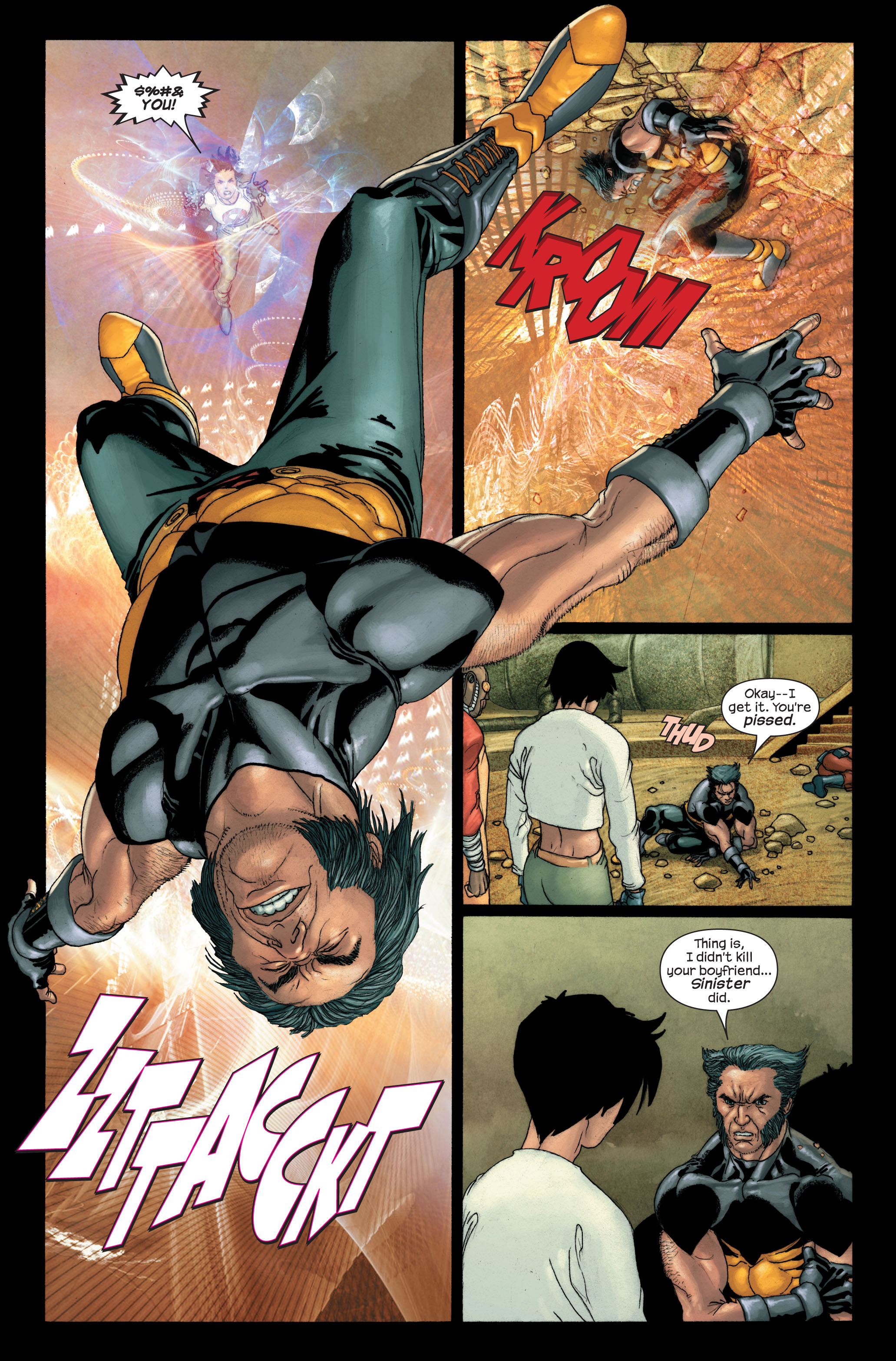 Read online Ultimate X-Men comic -  Issue #91 - 5