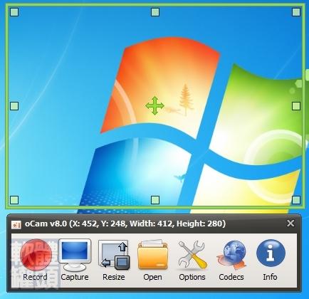 軟體罐頭: [下載]oCam v23.0 繁體中文版 免費螢幕擷圖與錄影工具