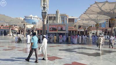 latar masjid nabawi