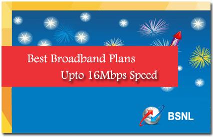 BSL Ahmedabad Broadband Plans