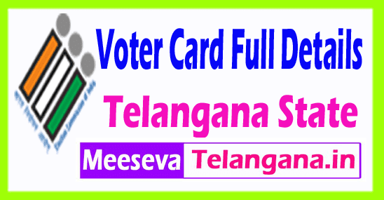 Telangana CEO Voter ID Online List Election Commission Full Details