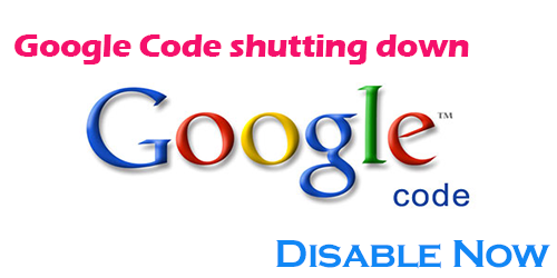 Google Code is Shutting Down