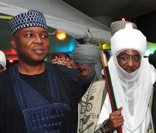 Saraki and Emir Sanusi