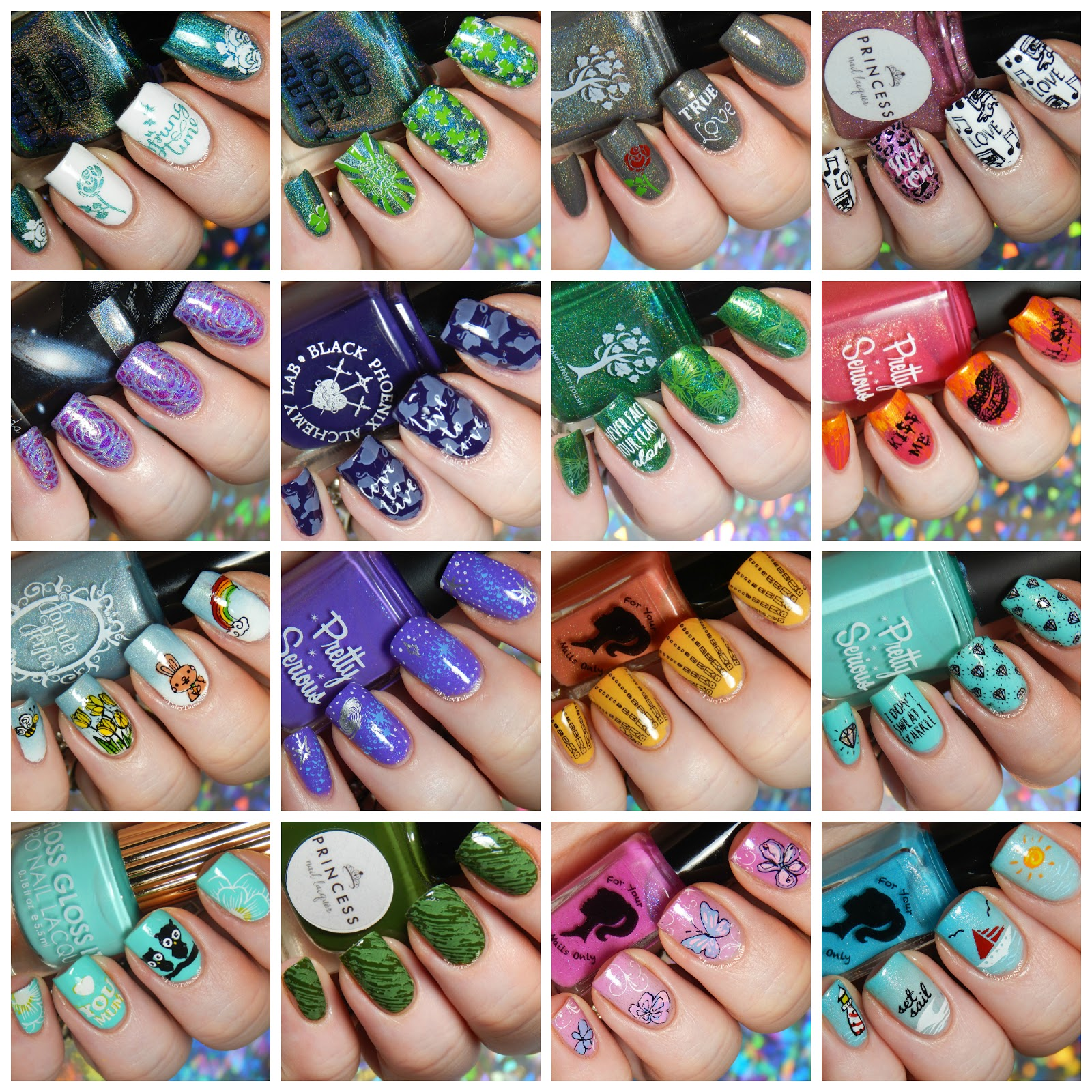 FairyTales Nails: March Nail Art 2017 Round Up
