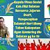Kepala Dinas Sosial KAB.OKU Selatan  Berserta Jajaran Staff, Mengucapkan Selamat Hari Ulang Tahun Kabupaten Ogan Kombring Ulu Selatan yg ke 15