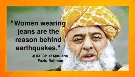 Pakistani Politician Blames Women For Earthquakes And Hyperinflation