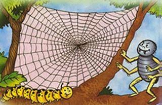 fabula el gusano de seda y la arana iriarte