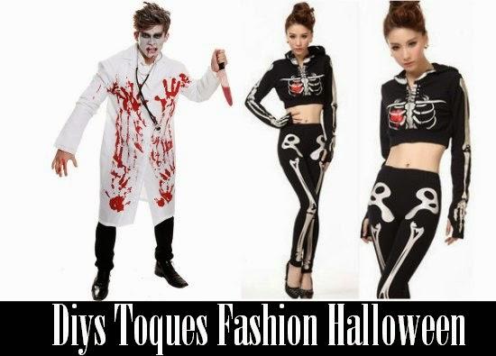 Diys Toques Fashion Halloween