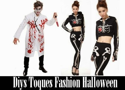 Diys Toques Fashion Halloween