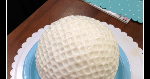 Biddle Bits How To Make A Golf Ball Cake