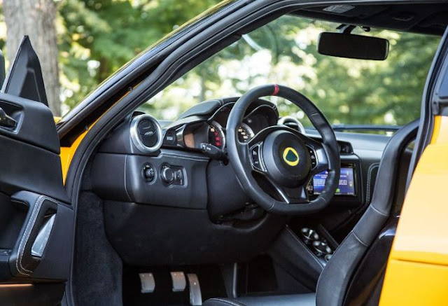 2017 Lotus Evora 400 Interior