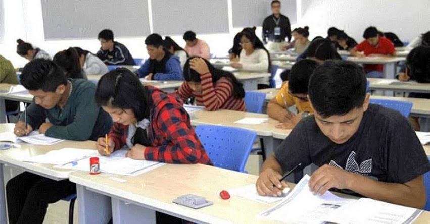 BECA 18: Aspirantes podrán prepararse con simulacros de examen de preselección - PRONABEC - www.pronabec.gob.pe
