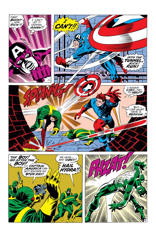 Read online Captain America (1968) comic -  Issue #110 - 15