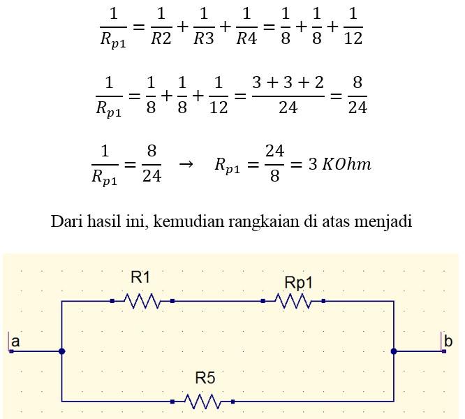 Contoh Soal Resistor Seri Paralel Dan Kombinasi Seri Paralel Lengkap Dengan Konsep Dan Pembahasan Gammafis Blog
