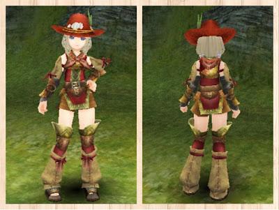 狩人の服・赤2