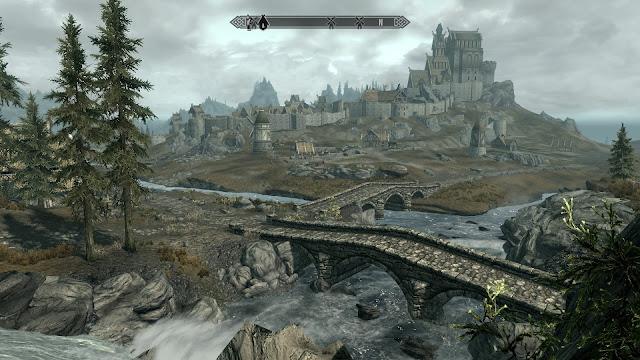 skyrim whiterun scenic screenshot