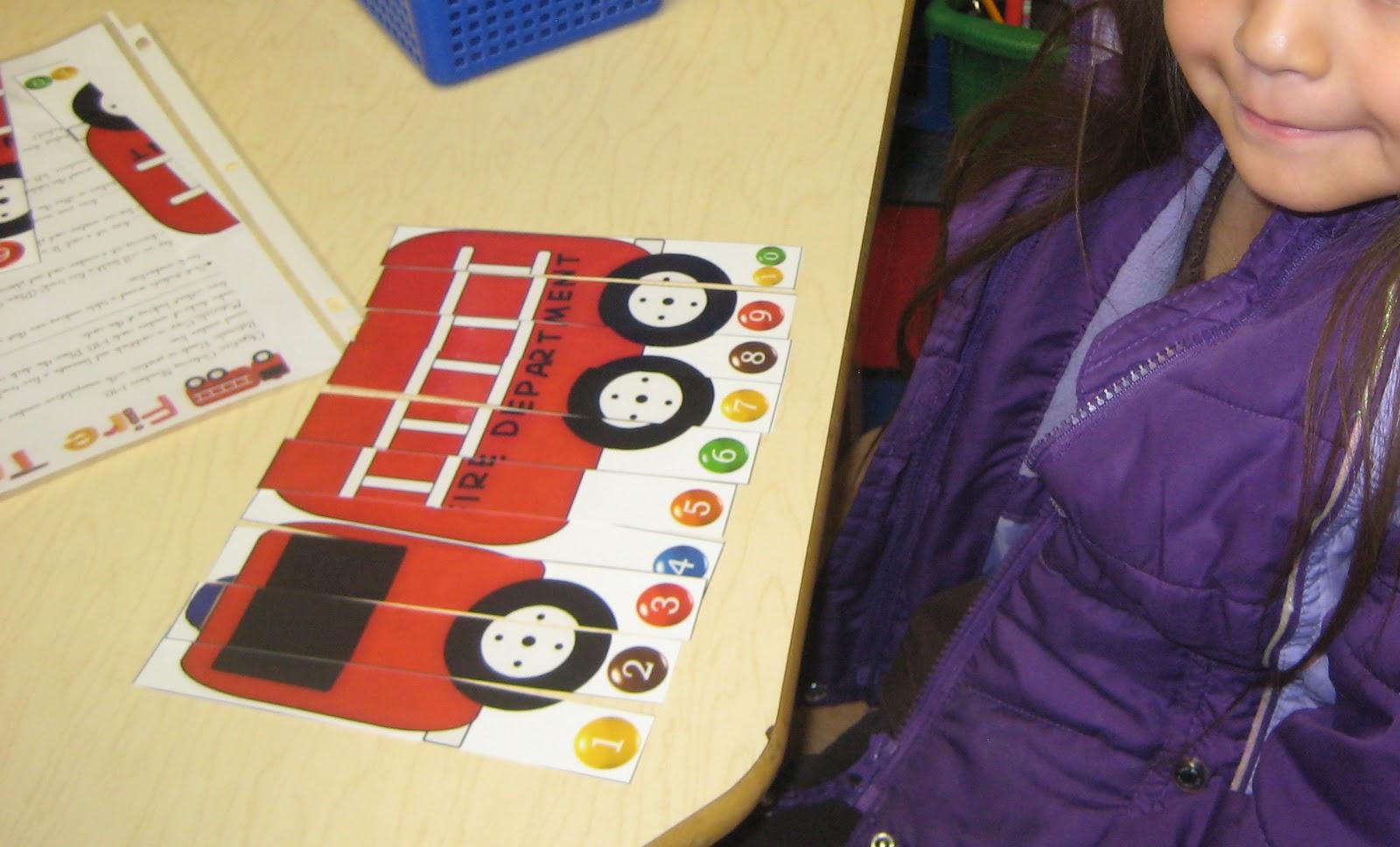 Kindergarten Kiosk Firemen Go To Kindergarten