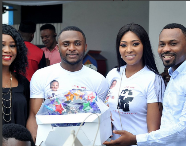 Lilian Esoro, Ubi Franklin and Eyo Bassey