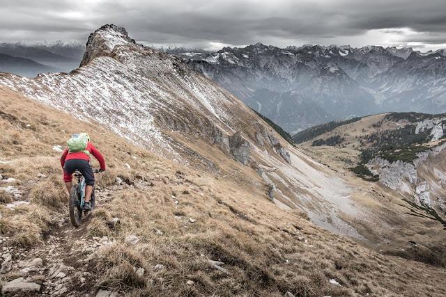 Downhill Streichkopf Achensee Mountainbike Streich Kopf