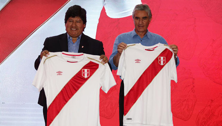 The new Peru 2018 World Cup jersey is the last-ever Umbro kit for the  country as Marathon Sports will replace the Double Diamond brand after the 2018  World ... 0f52f8021