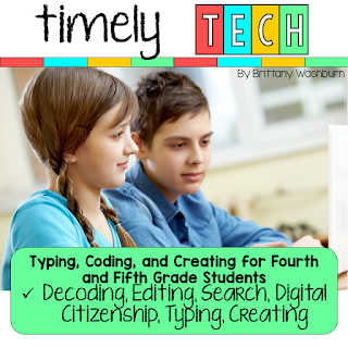 4/5: Decoding, Editing spelling errors, Search, Text vs. Email, Thankful ABCs, IF/THEN/ELSE, Coding, Timeline, Acrostic Poem