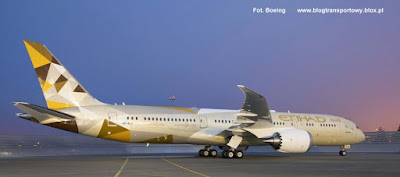 Boeing 787-9 Dreamliner, A6-BLA, Etihad Airways
