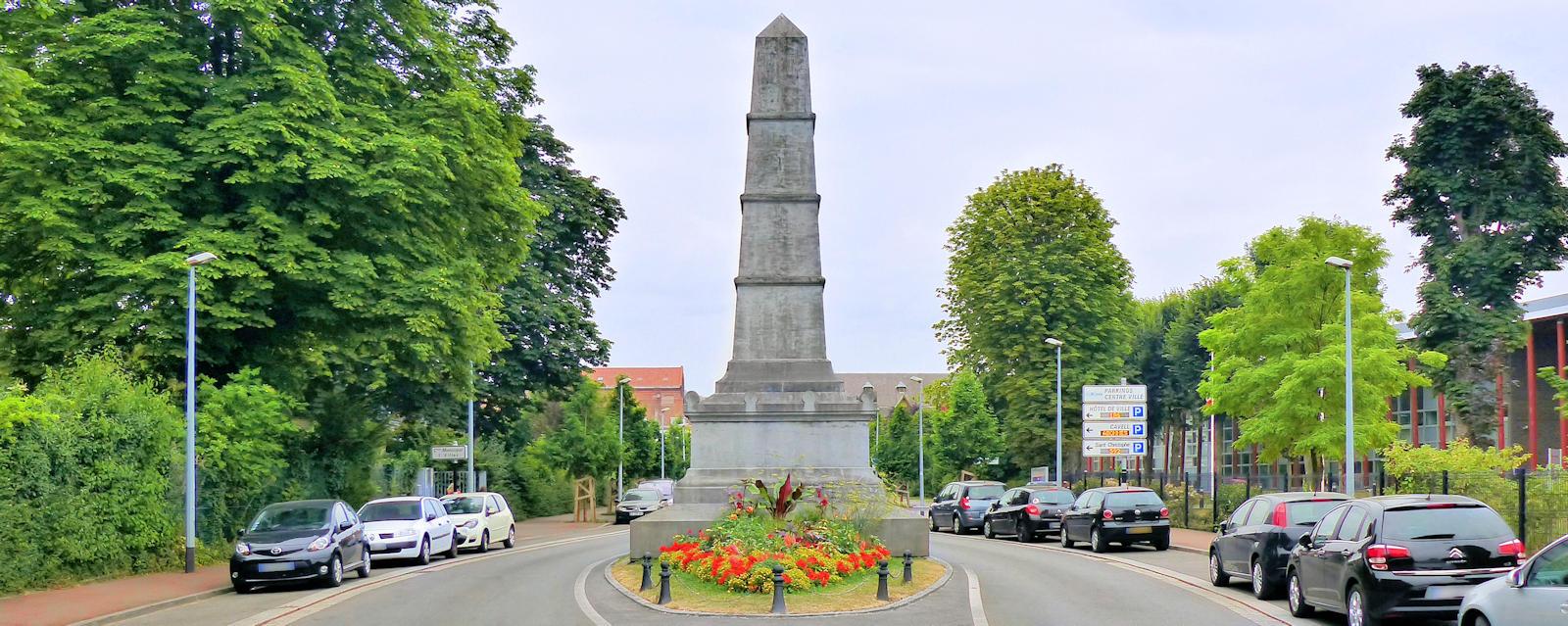Bataille de Tourcoing - Monument commémoratif, rue Jean Millet, Tourcoing.