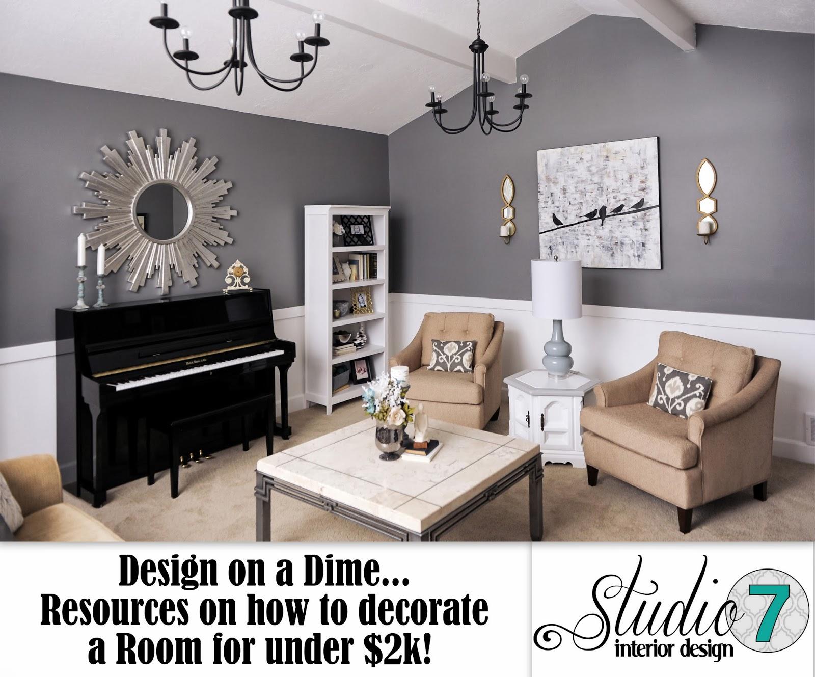 Studio 7 Interior Design: Client Reveal:Transitional Chic