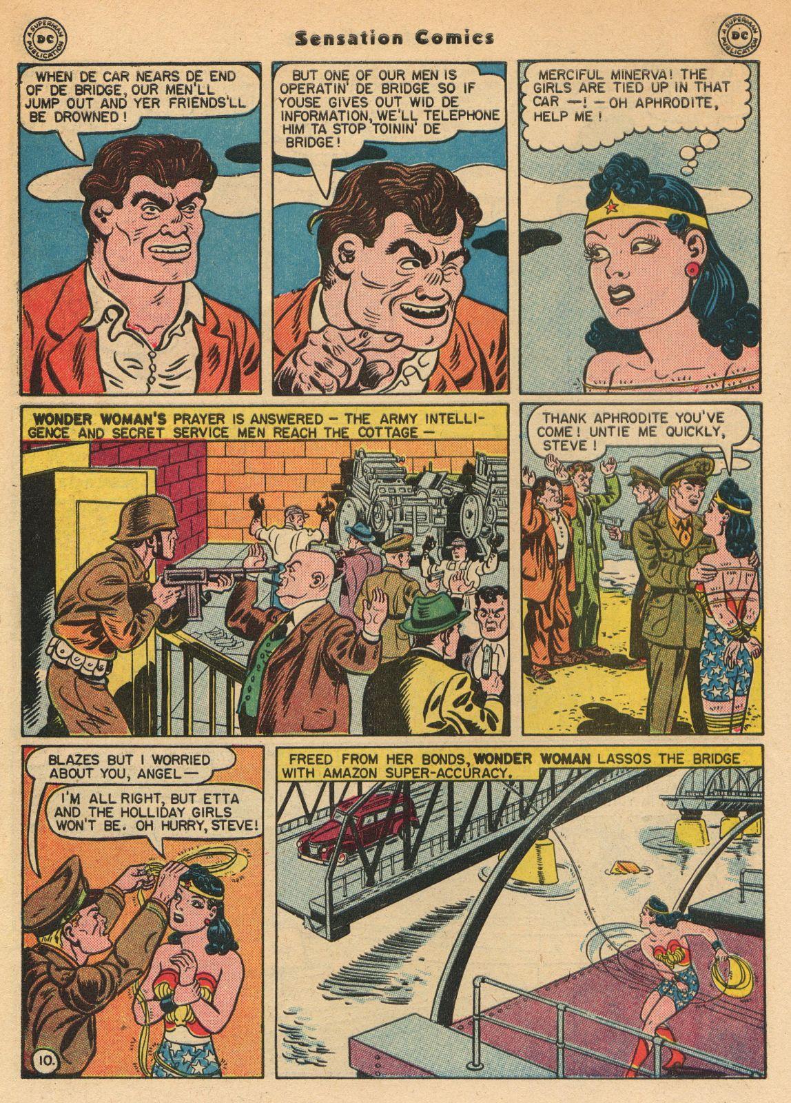 Read online Sensation (Mystery) Comics comic -  Issue #51 - 12
