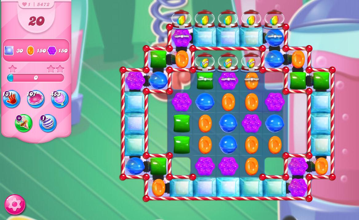 Candy Crush Saga level 5472