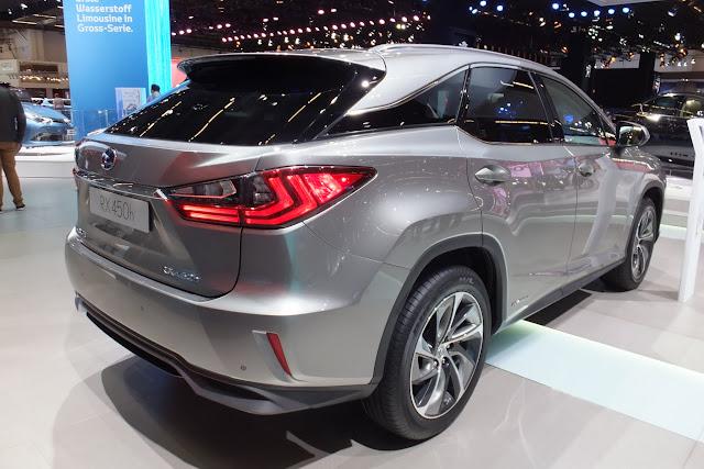 LEXUS RX new-type 新型レクサスRX4