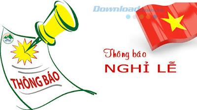Danh sách các ngày lễ lớn trong năm ở Việt Nam