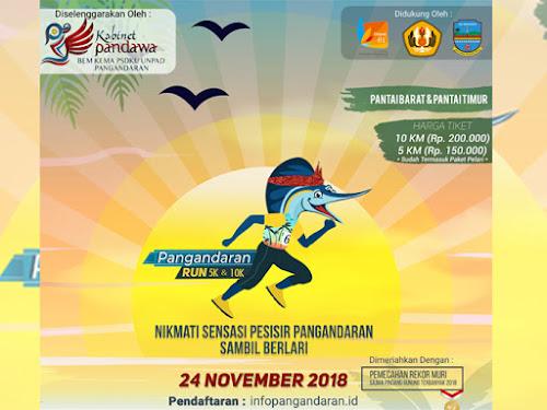 Pesona Pangandaran Lomba Lari 2018