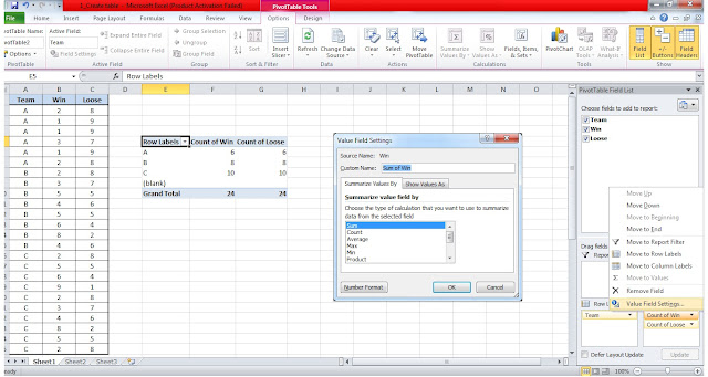 How to Use Pivot Table 5
